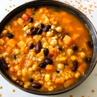 bean and lentil soup
