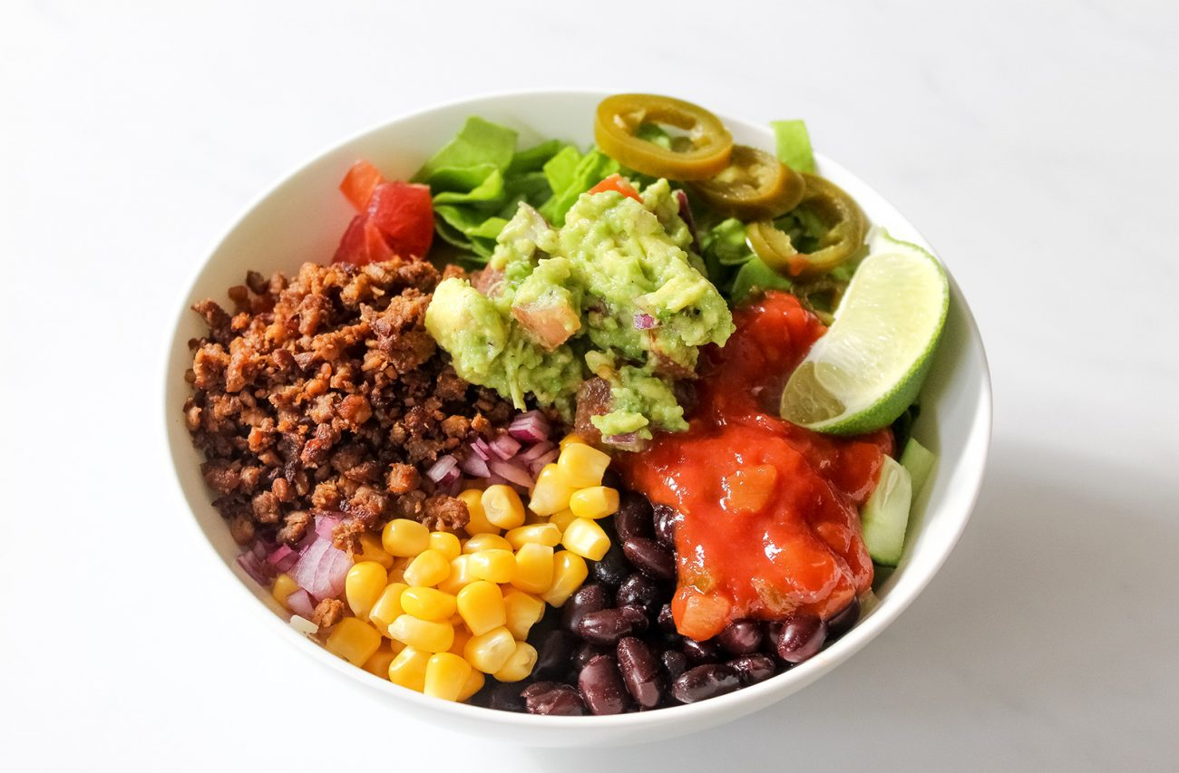Easy burrito bowl