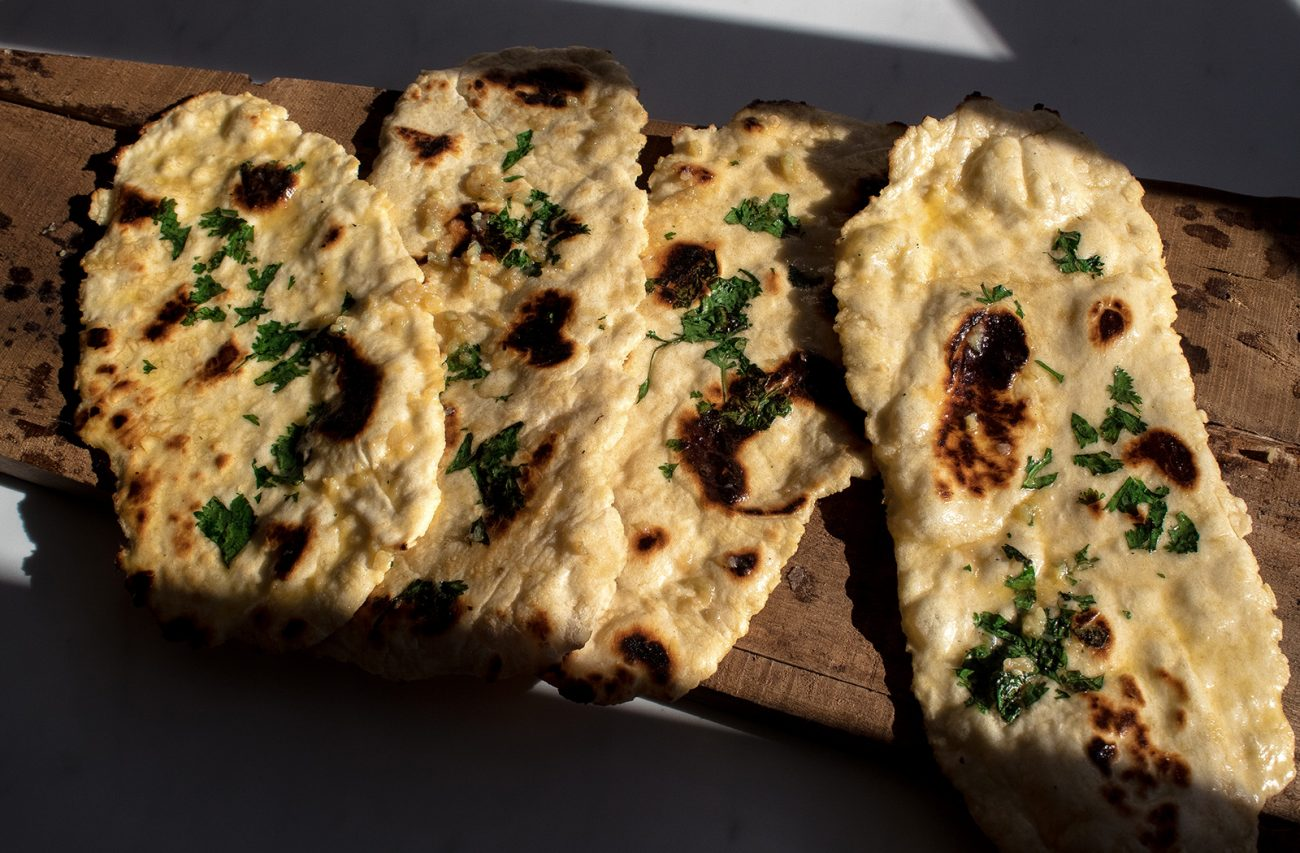 Easy garlic naan recipe