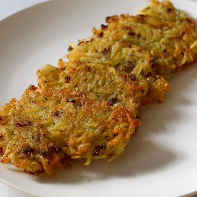 vegan potato pancakes