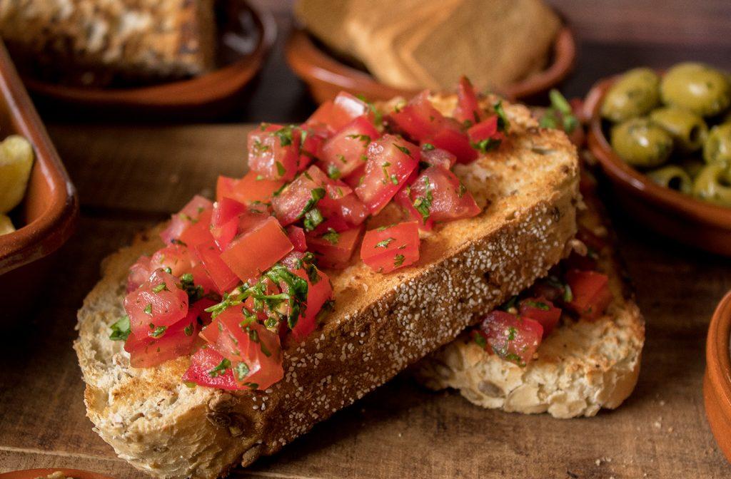 spanish tostada