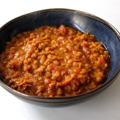 easy lentil dal