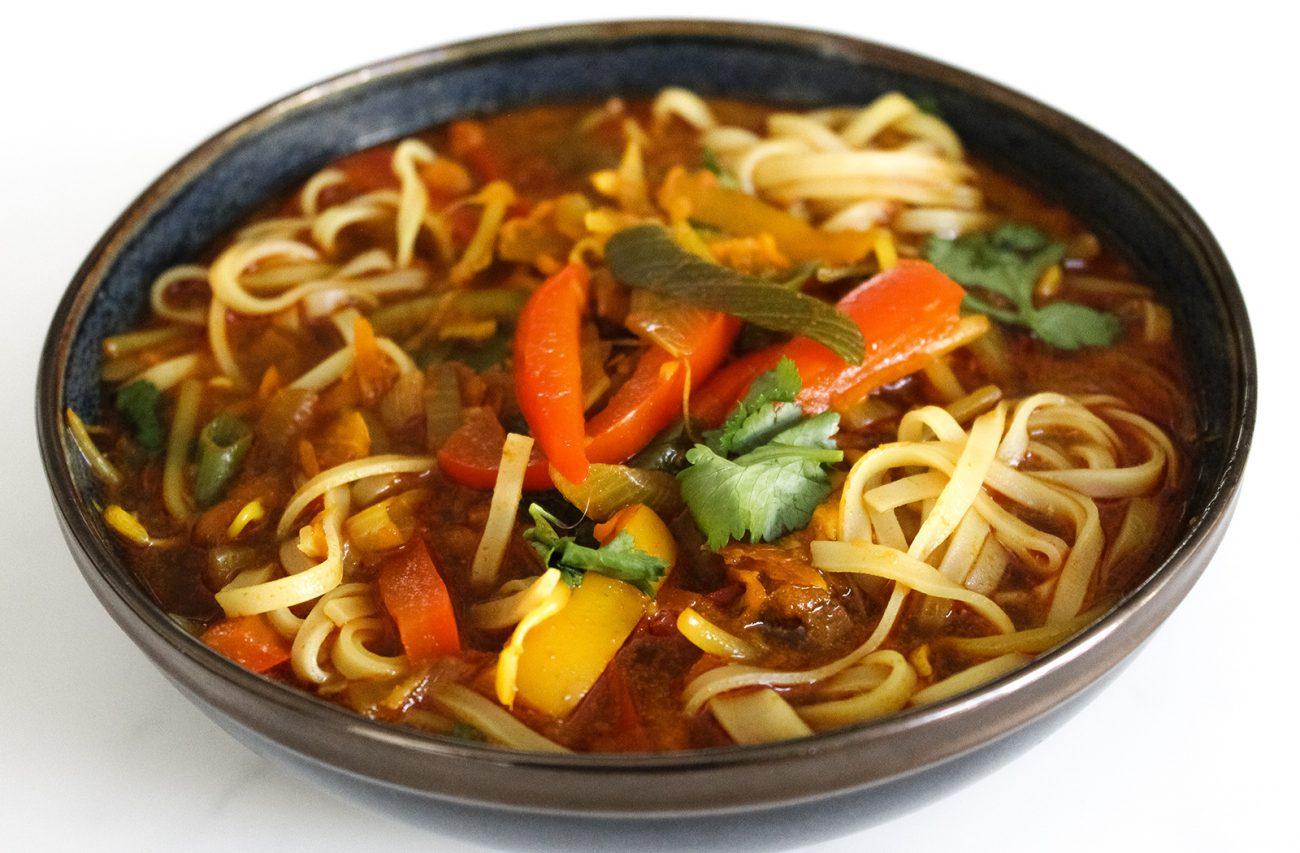 Vegan Thai Curry Soup