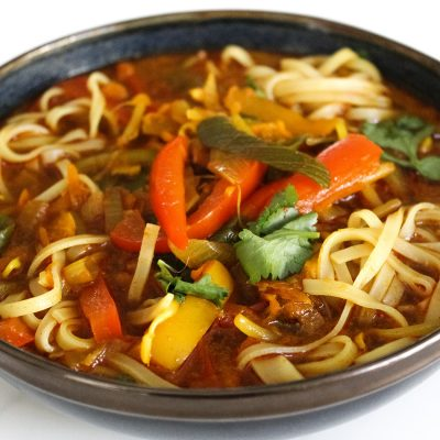 vegan thai curry soup