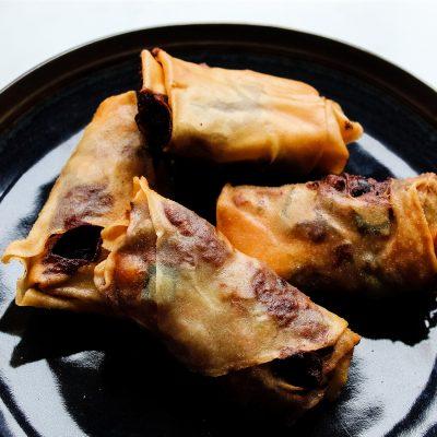 easy vegan spring rolls