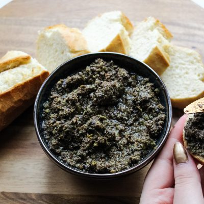 vegan tapenade