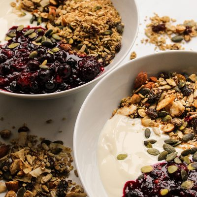 homemade vegan granola
