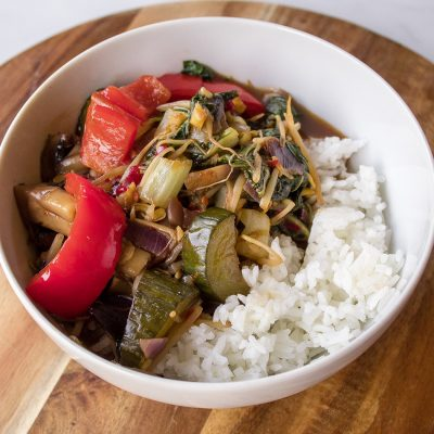 easy vegan chop suey