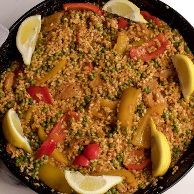 vegan spanish paella