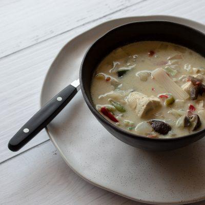vegan thai coconut soup