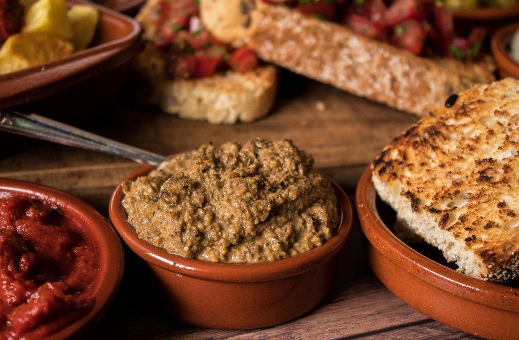 vegan olive tapenade