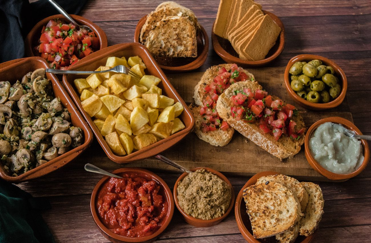 vegan spanish tapas