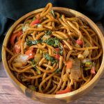15-minute vegetable lo mein