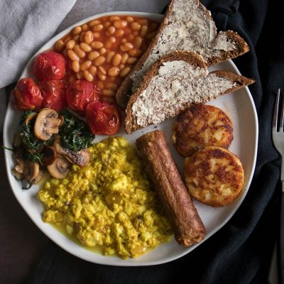 vegan full english breakfast